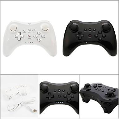 WU-C0001BW Bluetooth Vezérlők - Wii U Nintendo Wii U 180 Bluetooth Játék kar Újratölthető Vezeték néküli #