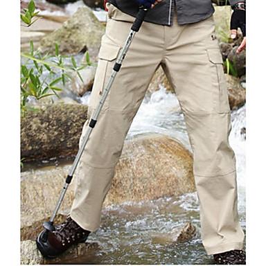 Erkek Alt Giyimler Kamp & Yürüyüş Avlanma Balıkçılık Tırmanma Serbest Sporlar Cross-CountrySu Geçirmez Hızlı Kuruma Rüzgar Geçirmez Nem