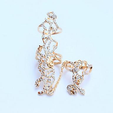 Gyűrűk Hétköznapi Ékszerek Ötvözet Női Midi gyűrűk 1set,7 Aranyozott / Ezüst