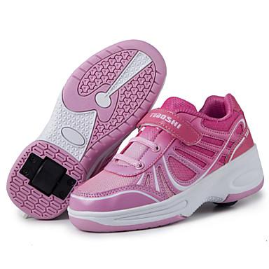 Női Férfi Fiú Lány Tornacipők Kényelmes Görkorcsolya cipők Szintetikus Tavasz Nyár Ősz Tél Sport Hétköznapi Kényelmes Görkorcsolya cipők