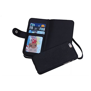 iphone 6 artı için stand ile özel tasarımı, yüksek kaliteli gerçek deri cüzdan kılıf tam vücut vakaları