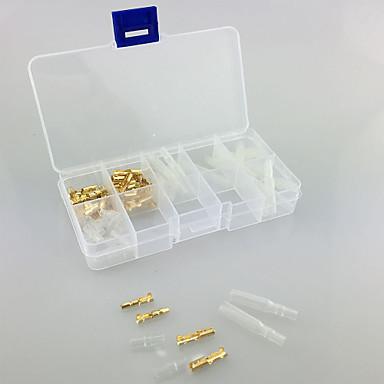 iztoss 40pcs messing boks kit 3,5 mm kontakt terminal hann& kvinnelig GTC med deksel