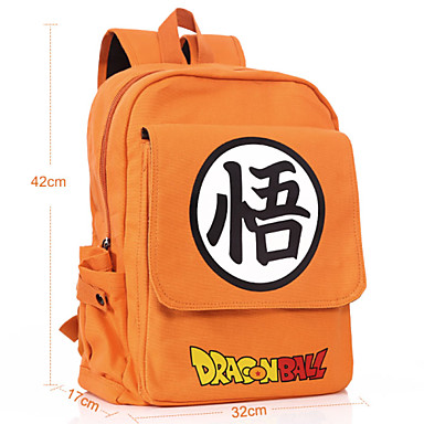 Bag Inspired by Dragon Ball Cosplay Anime Cosplay Accessories Bag Backpack Canvas Men's Women's New