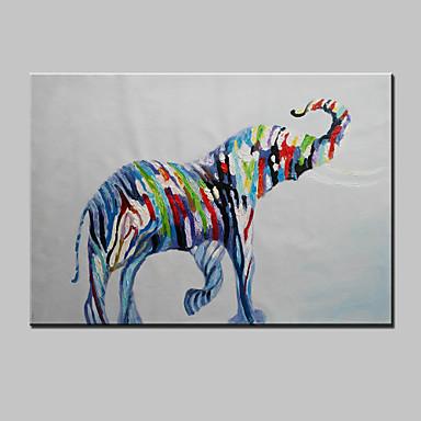Souvent moderne abstrait peinture à l'huile de zèbre peint à la main belle  MJ29