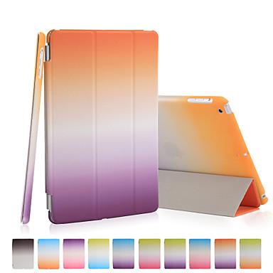 Case Kompatibilitás iPad Mini 3/2/1 Origami Héjtok Színátmenet PU bőr mert iPad Mini 3/2/1