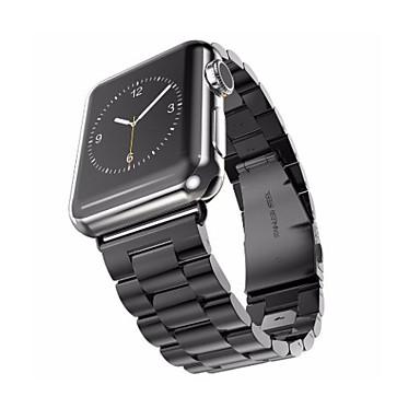 Klokkerem til Apple Watch Series 3 / 2 / 1 Apple Sommerfugle Spenne Rustfritt stål Håndleddsrem