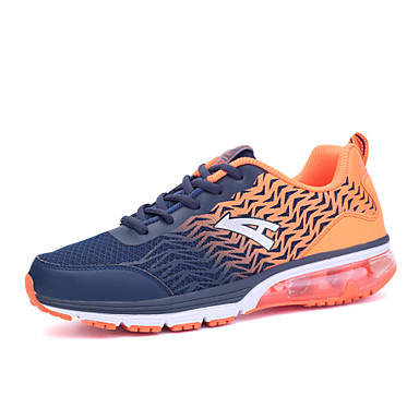 Running Shoes Men's  Synthetic Blue / Green / Orange