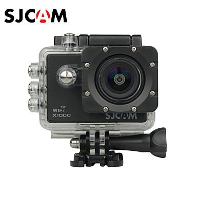SJCAM X1000 Akciókamera / Sport kamera 12 megapixeles 4032 x 3024 WIFI / LCD / Vízálló / Ütésvédelem / Széles látószög 4X 2 CMOS 32 GB
