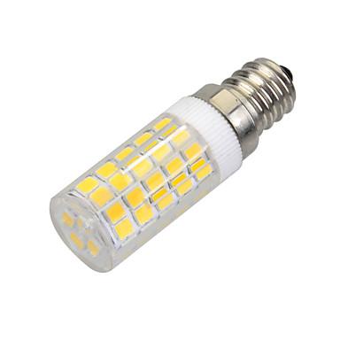 E14 LED Corn Lights B 64 SMD 2835 400-500 lm Warm White 3000-3500 K Decorative AC 220-240 V