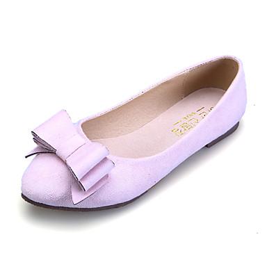 Djevojčice Ravne cipele Udobne cipele Eko brušena koža Proljeće Ljeto Jesen Kauzalni Formalne prilike Udobne cipele MašnicaRavna