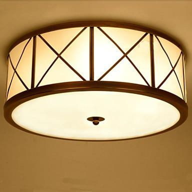 Montagem do Fluxo ,  Tradicional/Clássico Rústico/Campestre Vintage Retro Rústico Galvanizar Característica for LED MetalSala de Estar