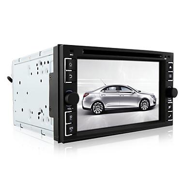 DVD Player Automotivo - 2 Din - 800 x 480 - 6,2 Polegadas