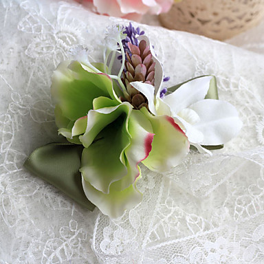 Wedding Flowers Elegant Free-form Peonies Boutonnieres Wedding Accessories