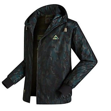 Men Outdoor Spring Soft Shell Jacket Waterproof Breathable Coat Quick-Drying