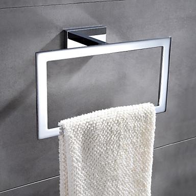 Havlu Çubuğu Çağdaş Pirinç 1 parça - Otel banyo havlu halkası