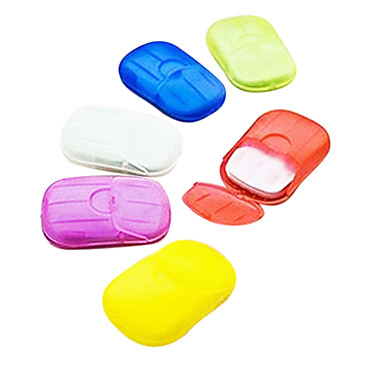 Creative Plastic Waterproof Portable Soap Dish for Travel Storage