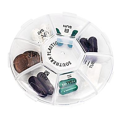 Carcasă Cutie Pilule Călătorie Portabil Pliabil pentru Accesorii Călătorie pentru Urgență