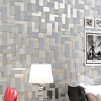 Art Deco Wallpaper Otthoni Kortárs Falburkolat , Nemszőtt papír Anyag ragasztószükséglet tapéta , szoba Falburkoló