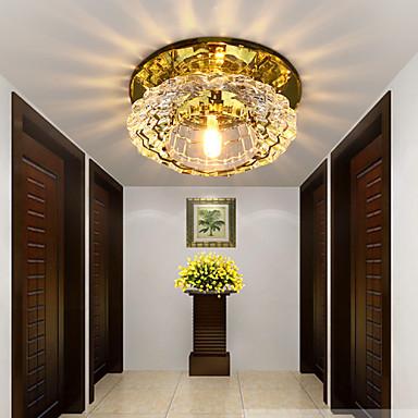 COSMOSLIGHT Modern / Comtemporary Flush Mount Ambient Light - Crystal LED, 220-240V, Meleg fehér, Da Bulb Included