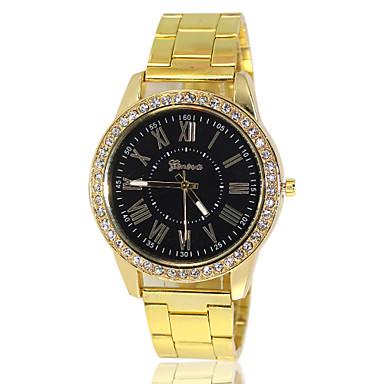 Homens Relógio de Pulso Quartzo Venda imperdível Lega Banda Amuleto Dourada
