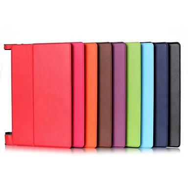 Case Kompatibilitás Lenovo Héjtok / Tablet tokok Egyszínű Kemény PU bőr mert