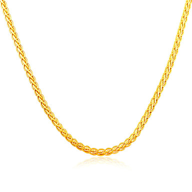 Elegant Woman 18K Gold Plated & Platinum Jewelry Wholesale Unique Chain Necklace Gift Jewelry N50114
