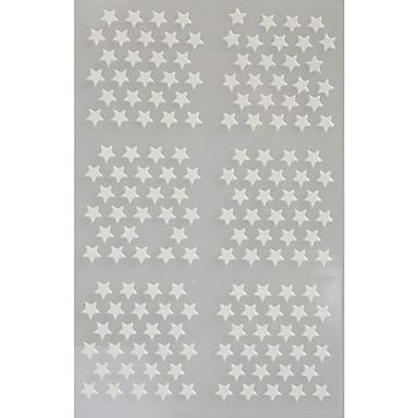 Sažetak / Lijep - 3D Nail Naljepnice - za Prst / nožni prst - 13*7.5 - 5 sheets kom. - Other