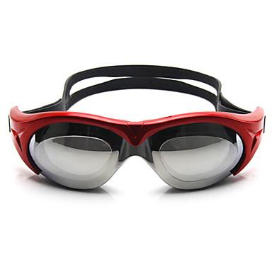 FEIUPE משקפי שחייה לנשים / לגברים / יוניסקס נגד ערפל / עמיד למים / גודל מתכוונן / אנטי-UV / עדשה מקוטבת סיליקה ג'ל PCורוד / כחול / כחול
