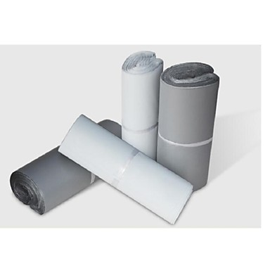 basekey 100 יח 'צבע מיילר פולי שק שליח משלוח של חבילות פלסטיק ילקוט פוסט חותם 400x550mm אקראי