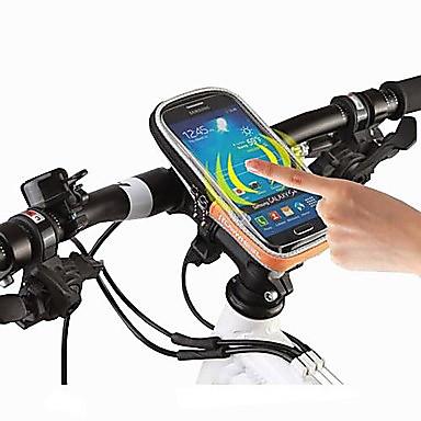 ROSWHEEL Handy-Tasche / Fahrradlenkertasche 4.8 Zoll Touchscreen, Wasserdicht Radsport für iPhone 5/5S / Andere ähnliche Größen Phones Schwarz / 600D Polyester / Wasserdichter Verschluß