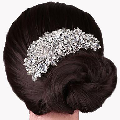 abordables Bijoux de Cheveux-Alliage Peignes avec 1 Mariage / Occasion spéciale Casque