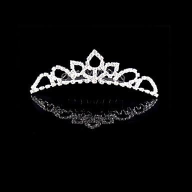 נשים ריינסטון קריסטל סגסוגת כיסוי ראש-חתונה אירוע מיוחד נזרים חלק 1
