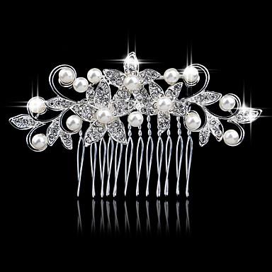 Uuden kammat korean timantti metalliseos morsian malja hiukset myy koruja
