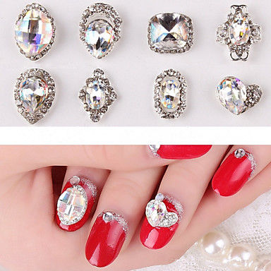 2 Nail Jewelry Abstract Classic Daily Abstract Classic High Quality