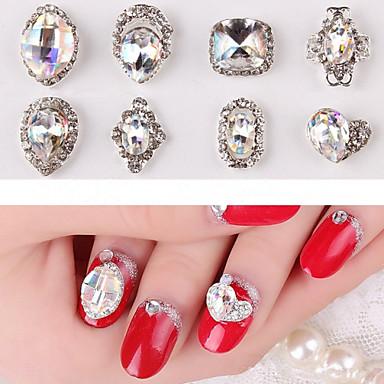 2 Nail Jewelry Soyut Klasik Günlük Soyut Klasik Yüksek kalite