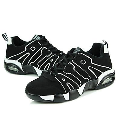 Unisex Zapatos Tul Primavera Verano Otoño Invierno Confort Zapatillas de Atletismo Running para Deportivo Casual Al aire libre Negro Azul