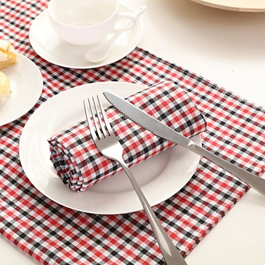 100% Cotton NapkinHotel Dining Table / Wedding Party Decoration / Wedding Banquet Dinner / Decor Favor /