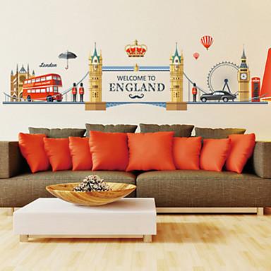 Archtektur / Cartoon Design / Worte & Zitate / Romantik / Mode / Feiertage / Landschaft / Formen / Fantasie Wand-StickerFlugzeug-Wand