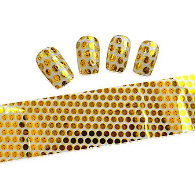 5 Adesivos para Manicure Artística Desenho Adorável maquiagem Cosméticos Designs para Manicure