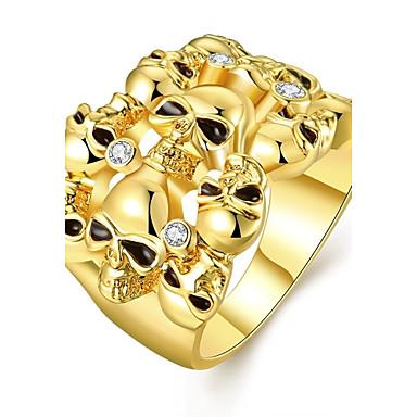 Prstenje Birthstones Vjenčanje / Party / Dnevno / Kauzalni Jewelry Zircon / Pozlaćeni / Opal Žene Prstenje sa stavom 1pc,7 / 8Zlatna /