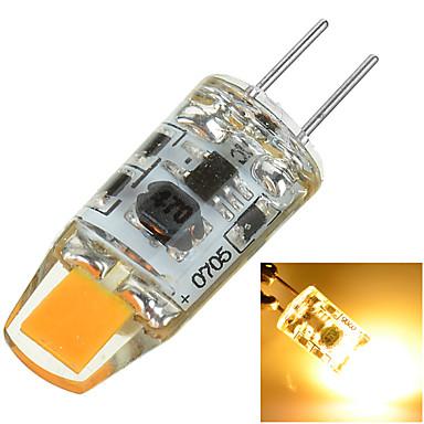 100-200 lm G4 LED Bi-pin 조명 매립형 레트로핏 1 LED 비즈 COB 장식 따뜻한 화이트 / 차가운 화이트 12 V / 1개 / RoHS 규제