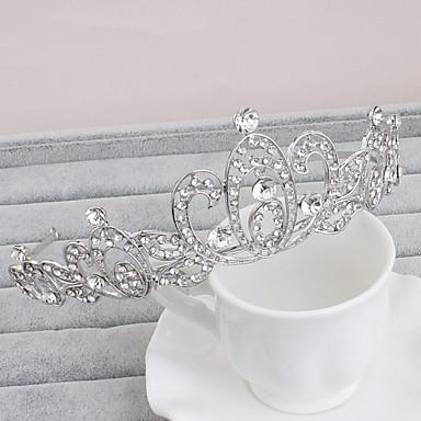 rhinestone tiaras headpiece häät juhlat tyylikäs naisellinen tyyli