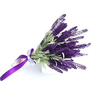 Cvijeće za vjenčanje Slobodni oblik Lavanda Buketi Vjenčanje Party / Večernji Osušeni cvijet