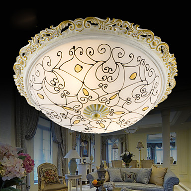 33*12CM Europe Type Resin Glass Dome Light Sweet Bedroom Study Led To Absorb Dome Light LED Lamp