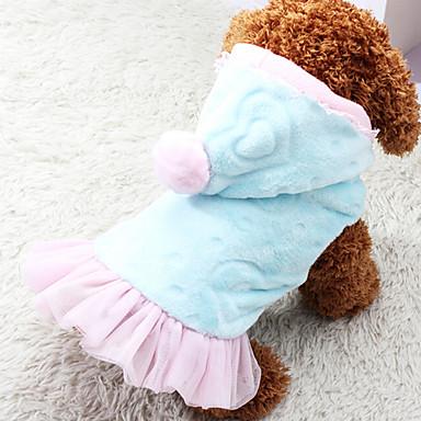 Cães Vestidos Rosa Roupas para Cães Primavera/Outono Da Moda