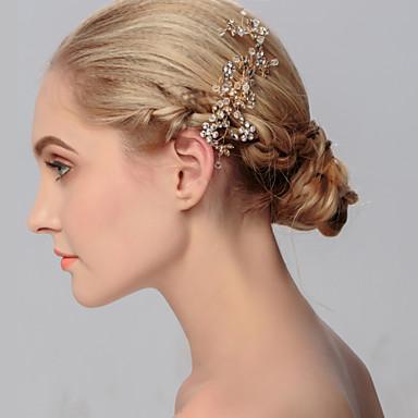 Rhinestone Hair Combs Headpiece