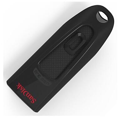 SanDisk ultra cz48 128 Gt USB 3.0 muistitikku, musta, (sdcz48-128g-z46)