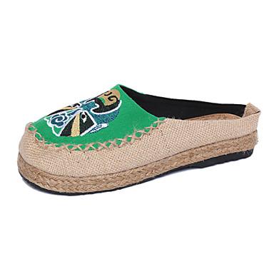Ženske cipele - Ravne cipele / Mokasine - Ured i karijera / Ležerne prilike / Formalne prilike - Keper - Ravna potpetica -Espadrile /