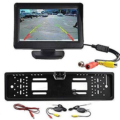 رخيصةأون محركات-كاميرا الرؤية الخلفية - متوافقة مع ماركات السيارات جميعا - 1/4  بوصة CCD حساس - 170° - 480 TV خطوط