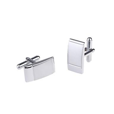 Sølv Mansjettknapper Kobber / Legering Herre Kostyme smykker Til